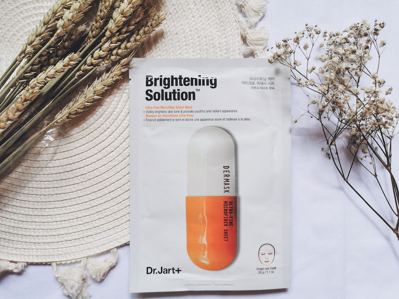 REVIEW | Dr. Jart+ Dermask Micro Jet Brightening Solution