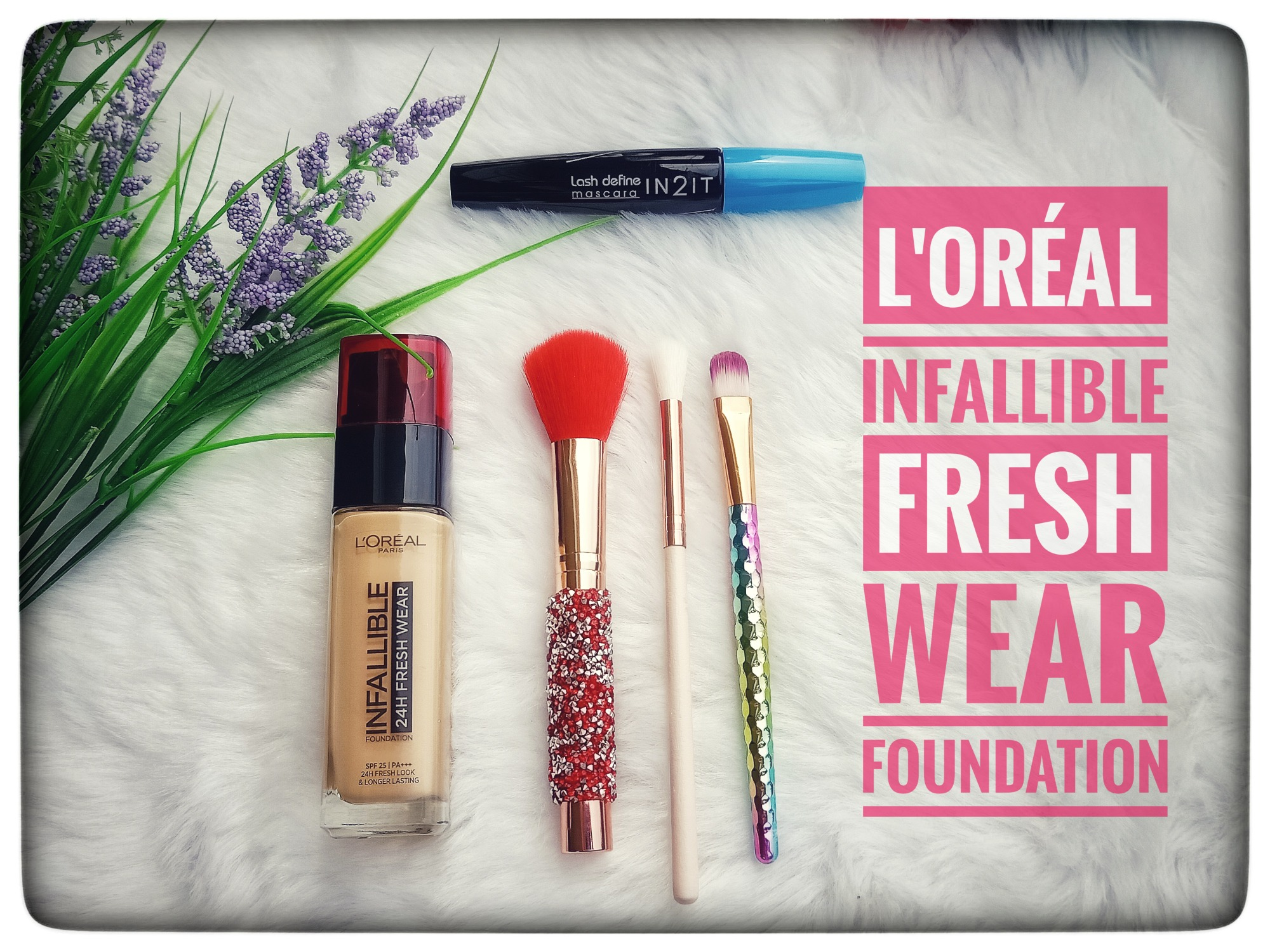 REVIEW | L'Oreal Infallible 24H Fresh Wear Foundation