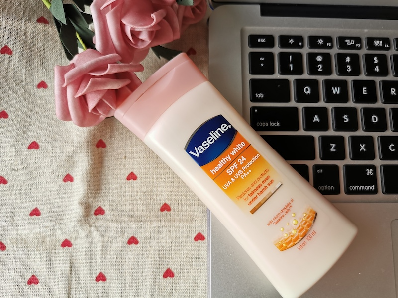 REVIEW | Vaseline Healthy White Body Lotion Sun + Pollution SPF24
