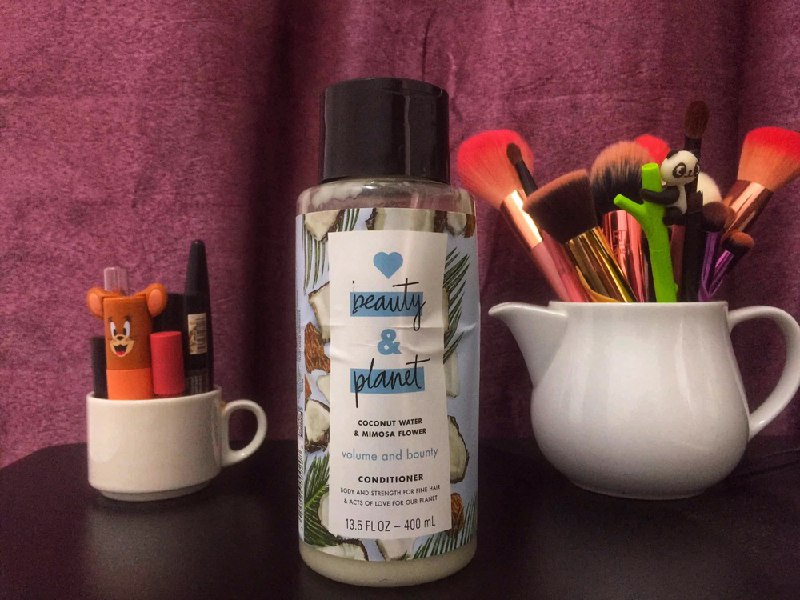 REVIEW | Love Beauty & Planet Volume & Bounty Conditioner