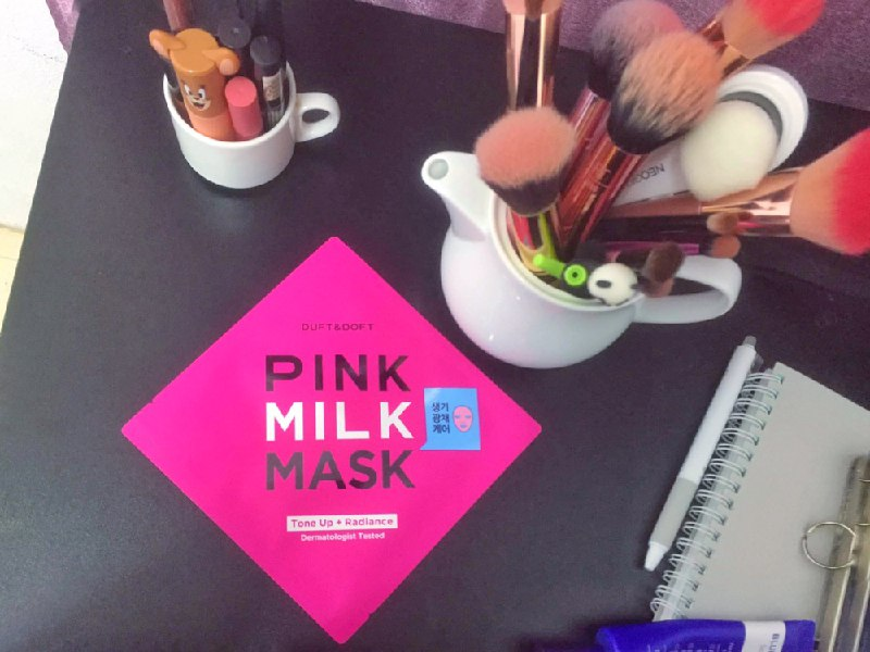 REVIEW | Duft and Doft Pink Milk Mask Tone Up+Radiance