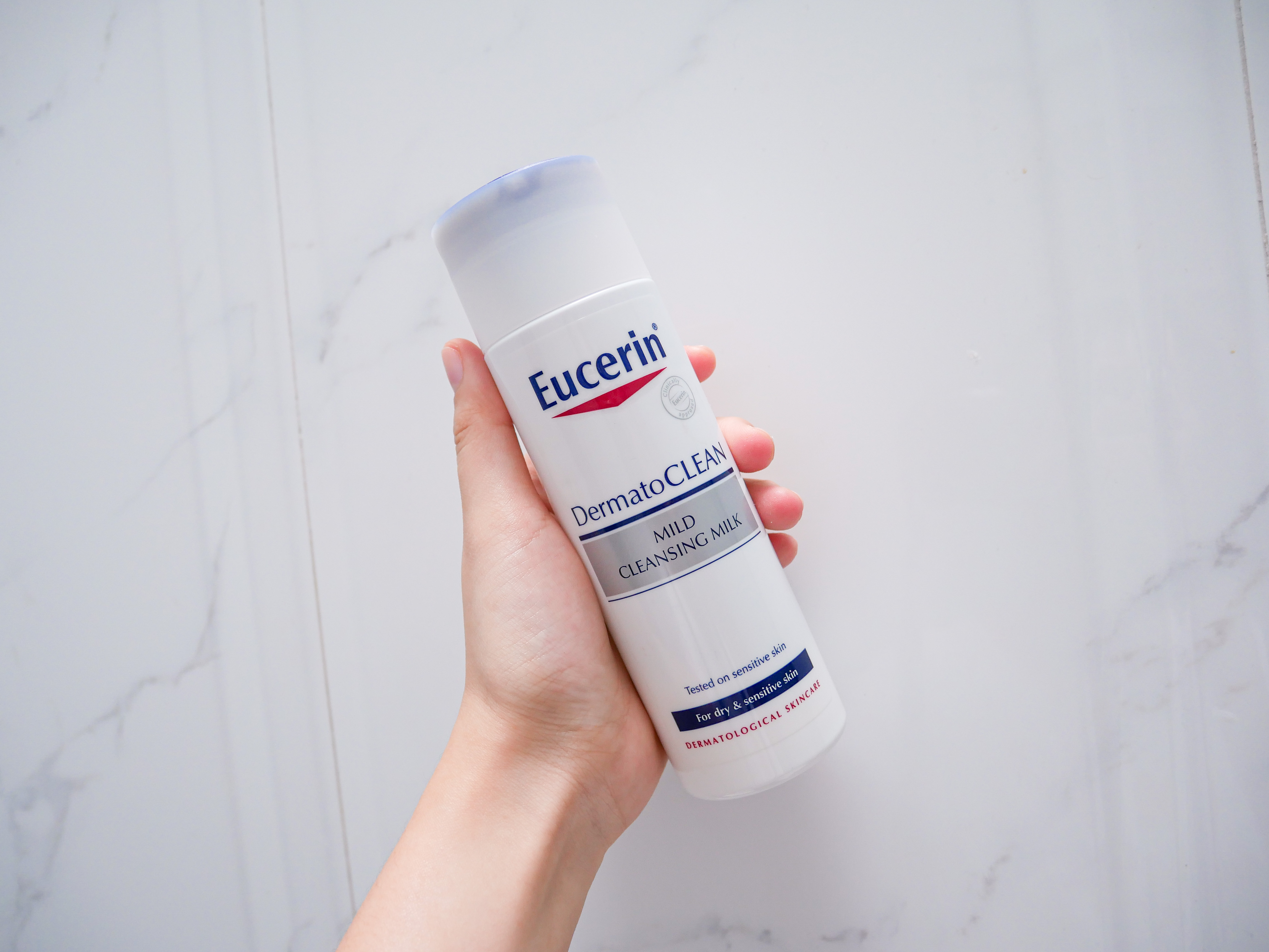My Double Cleanse Holy Grail – Eucerin Dermato Clean Mild Cleansing Milk