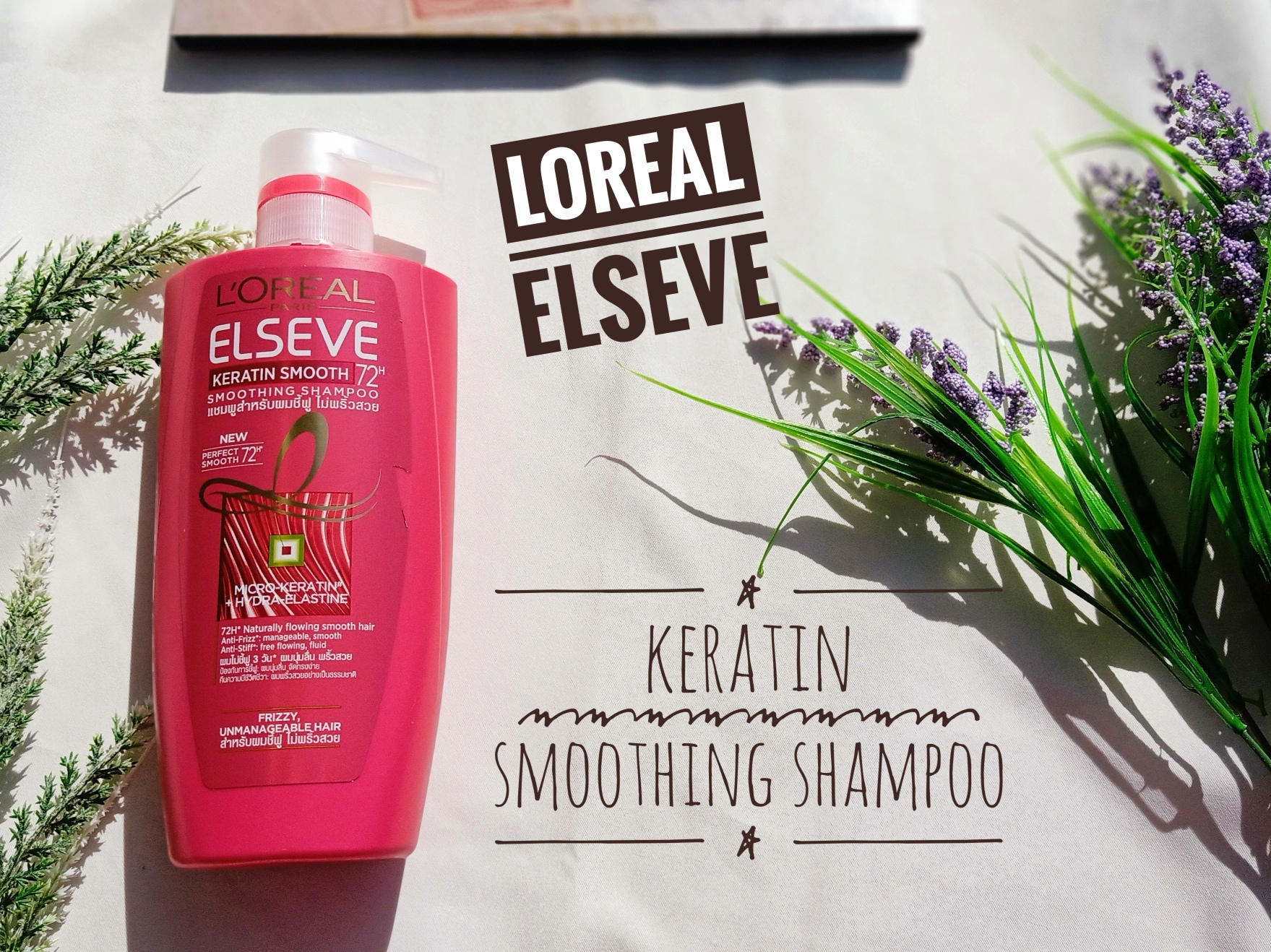 REVIEW | L'Oréal Elseve Keratin Smooth Shampoo