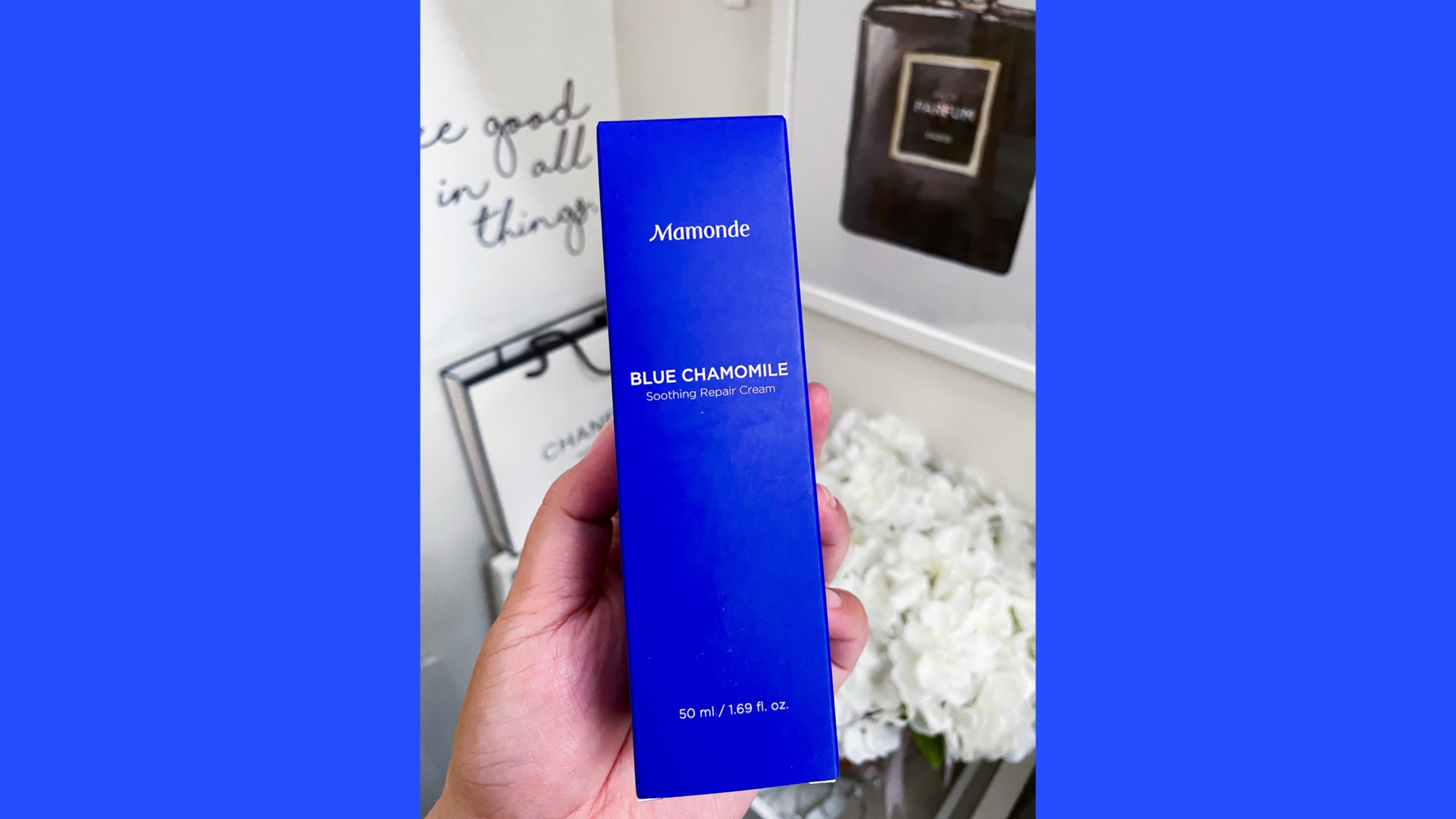 REVIEW | Mamonde Blue Chamomile Soothing Repair Cream
