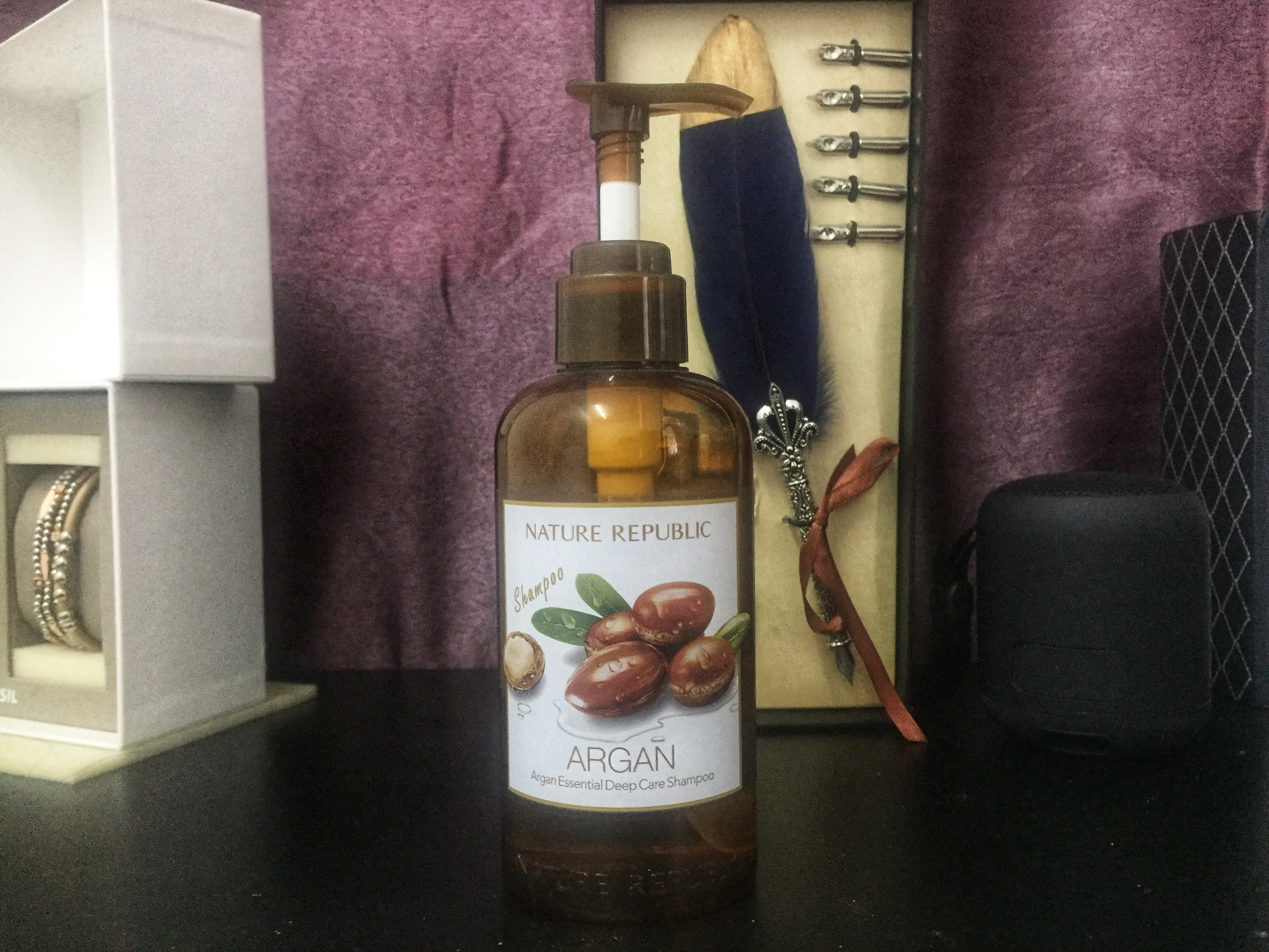 REVIEW | Nature Republic Argan Essential Deep Care Shampoo