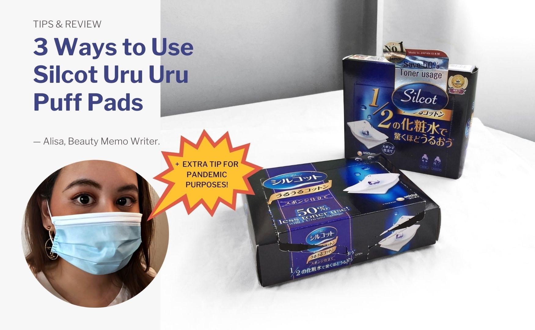 How To | 3 Ways to Use Silcot Uru Uru Puff Pads