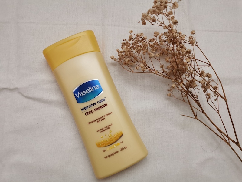 REVIEW | Vaseline Intensive Care Lotion Deep Restore