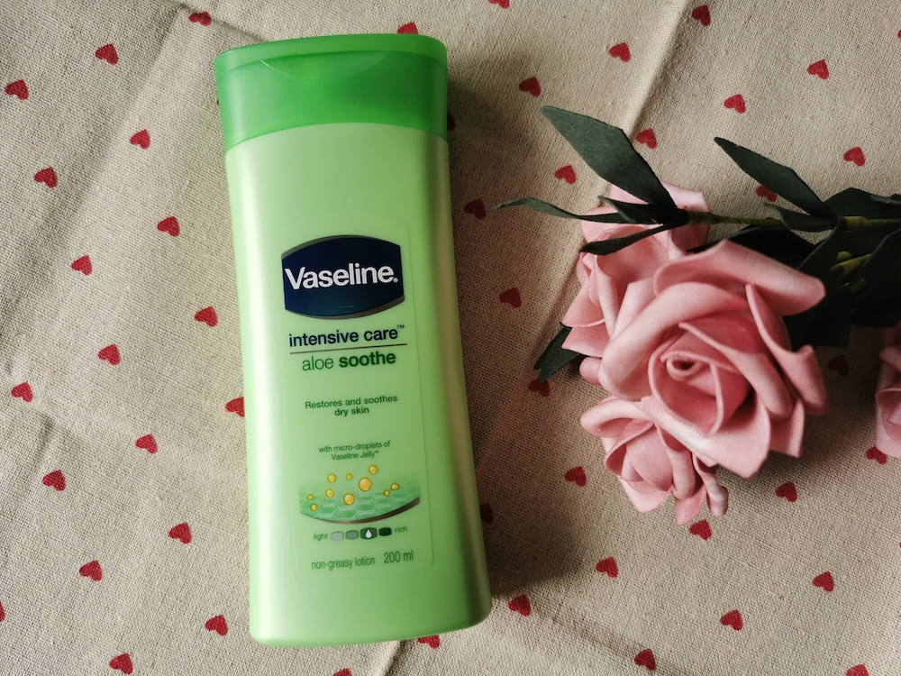 REVIEW | Vaseline Intensive Care Lotion Aloe Soothe