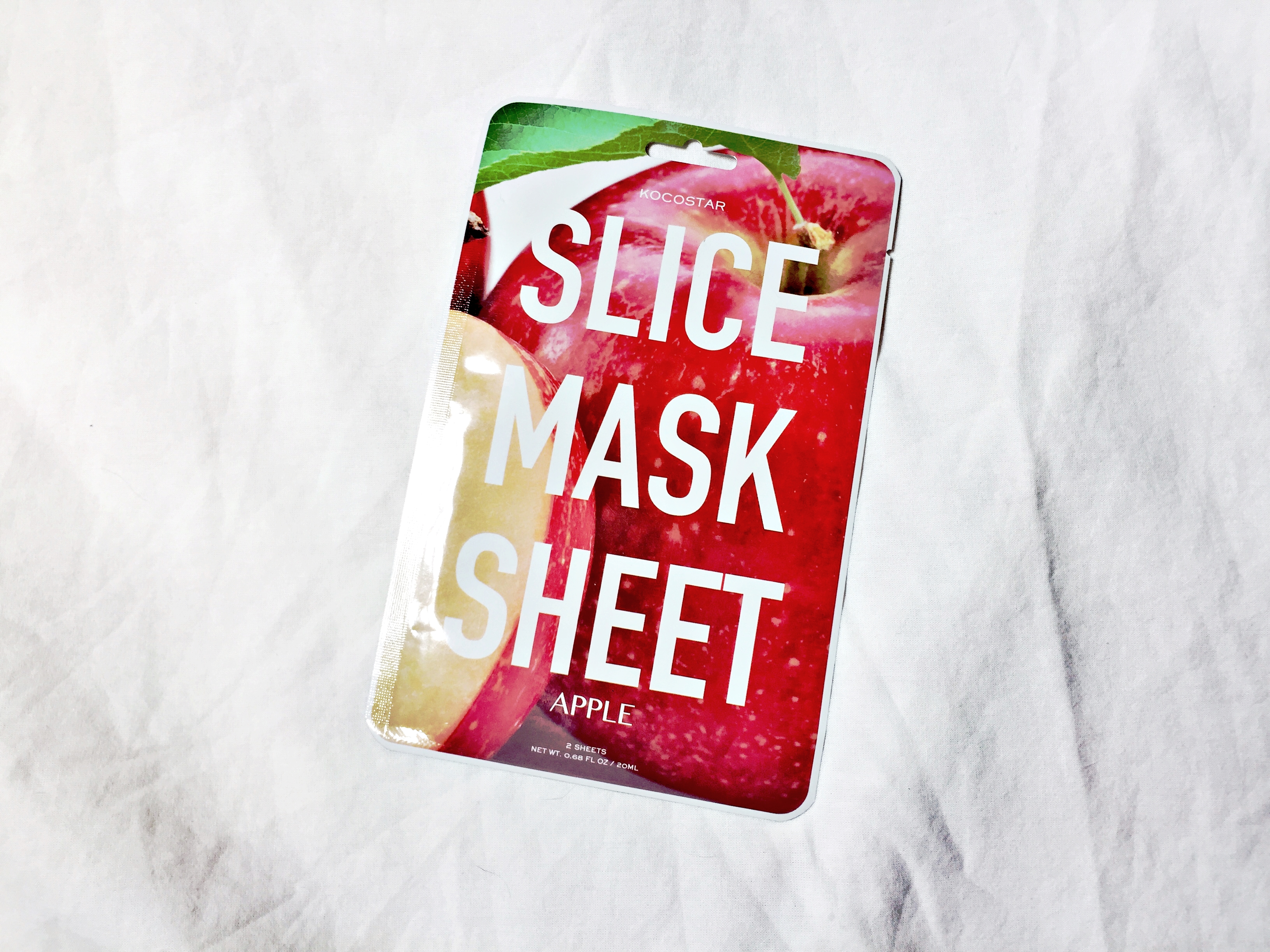 REVIEW | An Apple a Day with Kocostar Slice Mask Sheet