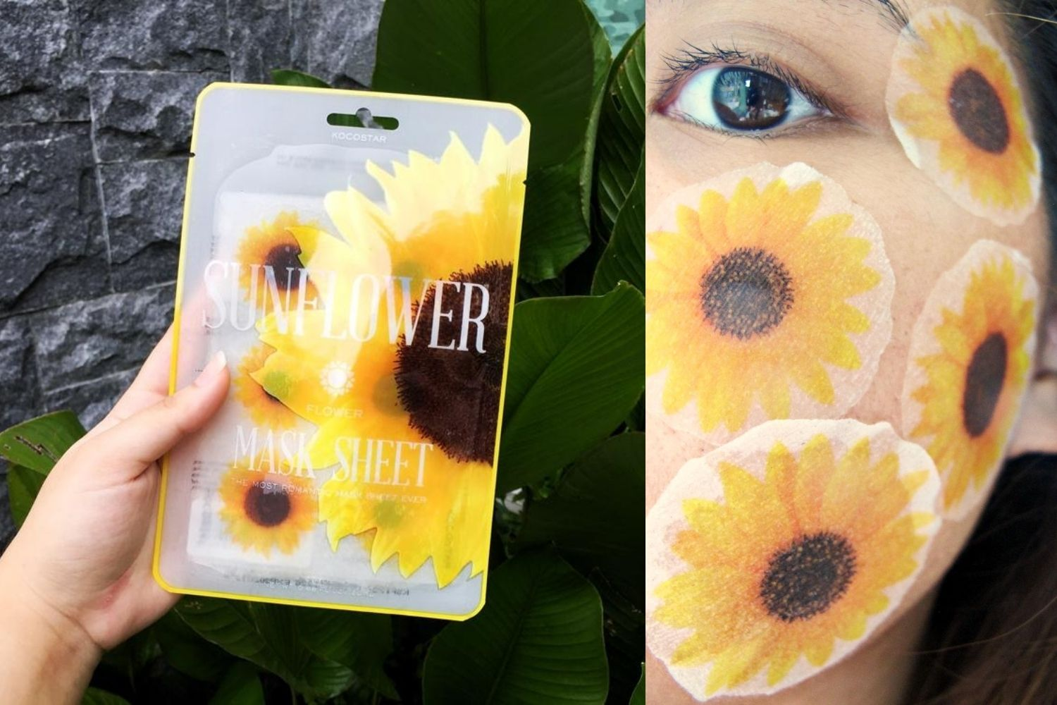 REVIEW |  Bloom with Kocostar Sunflower Slice Mask Sheet