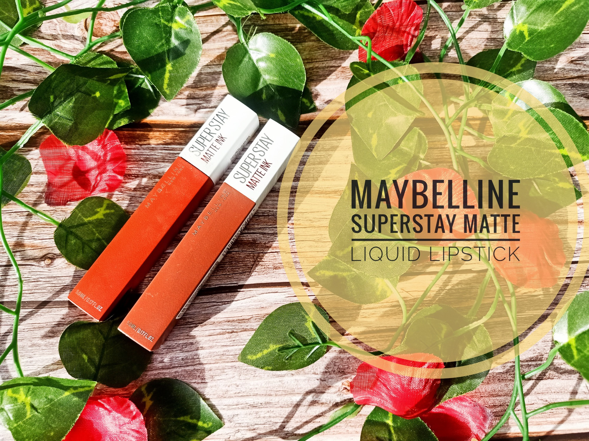 REVIEW | Maybelline Superstay Matte Ink