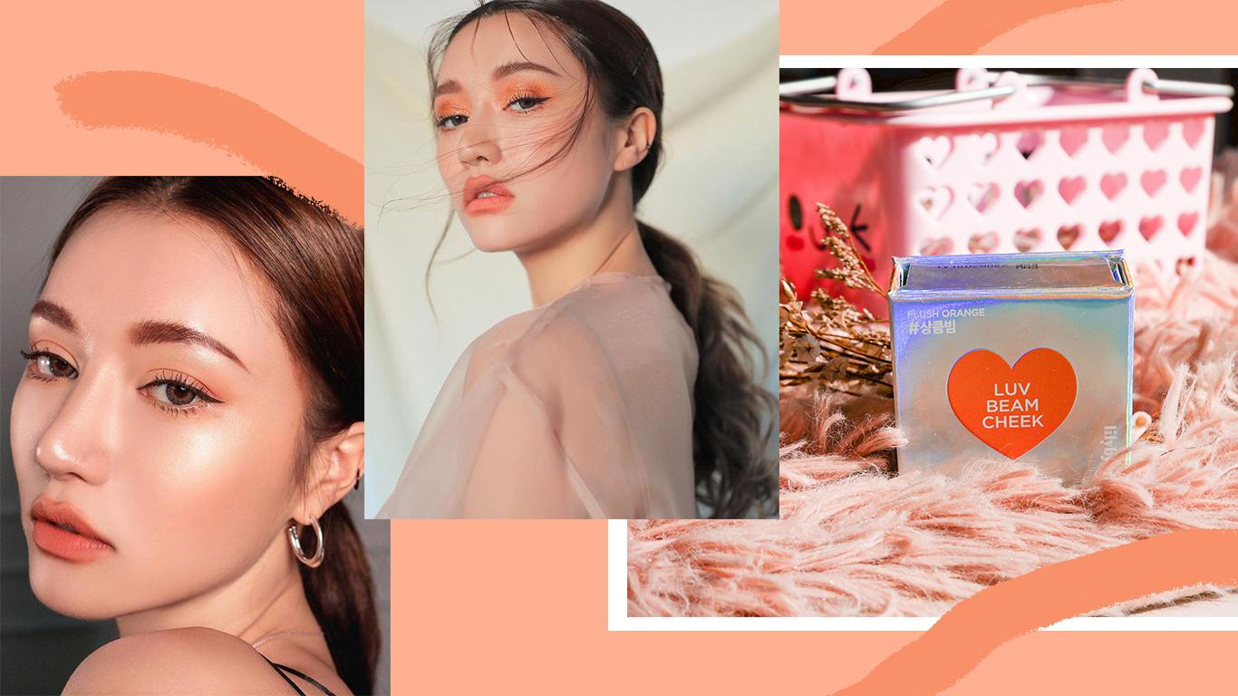 TUTORIAL | Orange Makeup Trend featuring Lilybyred Luv Beam Cheek