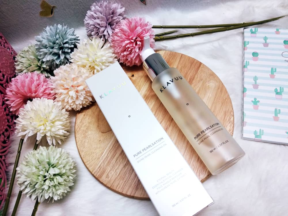 REVIEW | Klavuu Divine Pearl Cleansing Oil