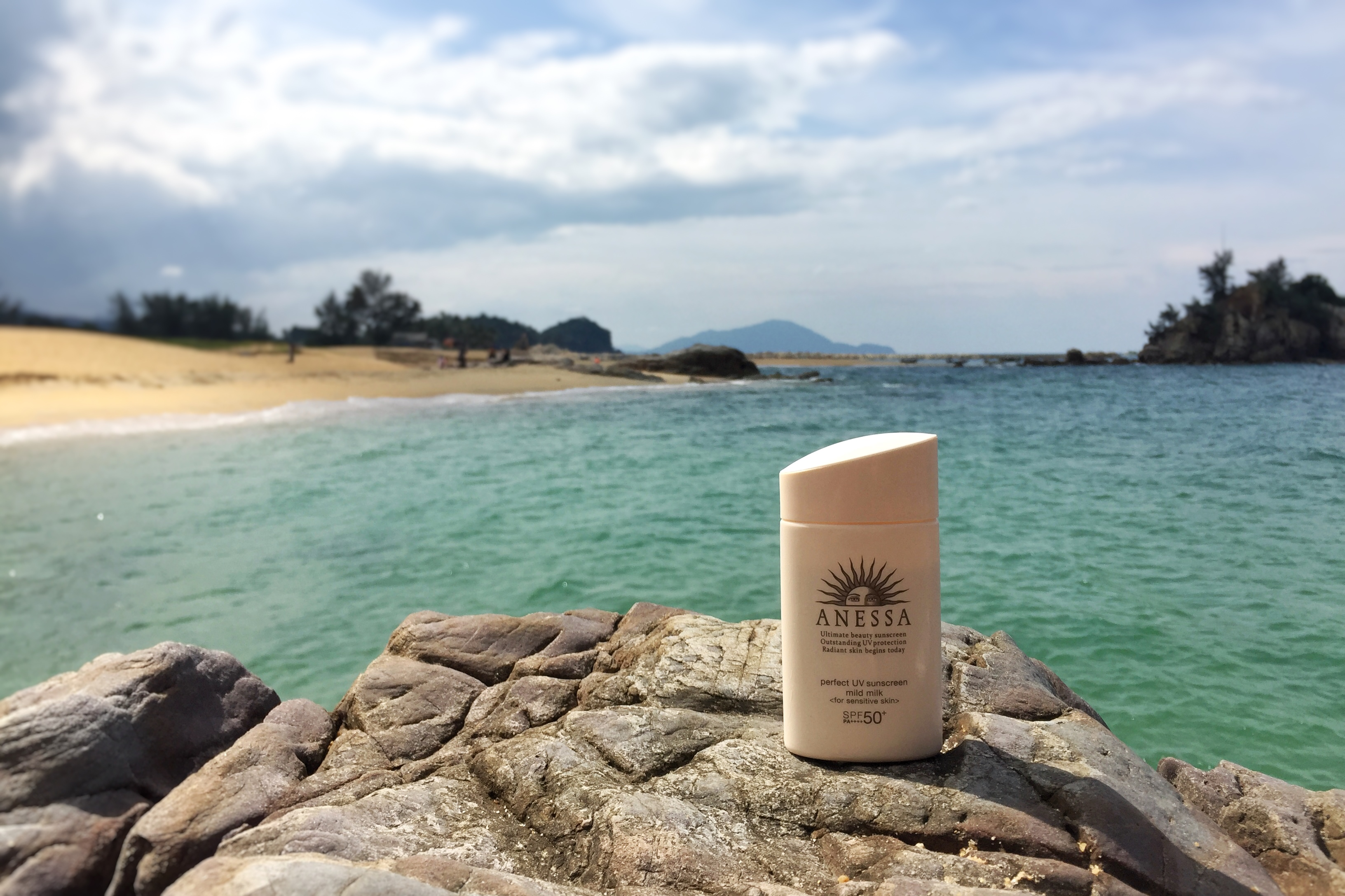 REVIEW | Beach Proof? Anessa Perfect UV Sunscreen Mild Milk SPF50