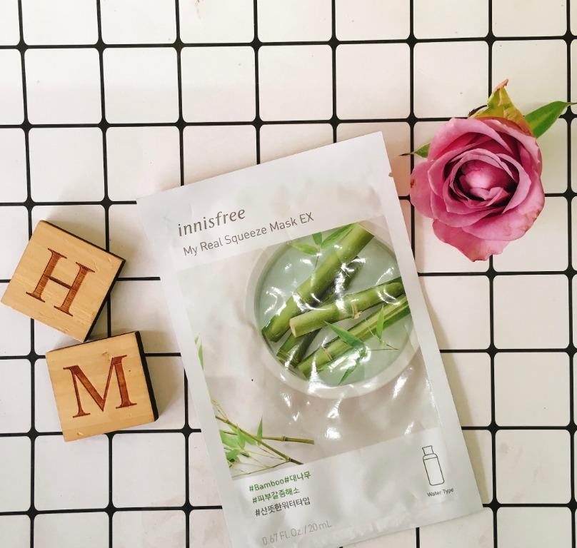REVIEW | Innisfree My Real Squeeze Mask #Bamboo
