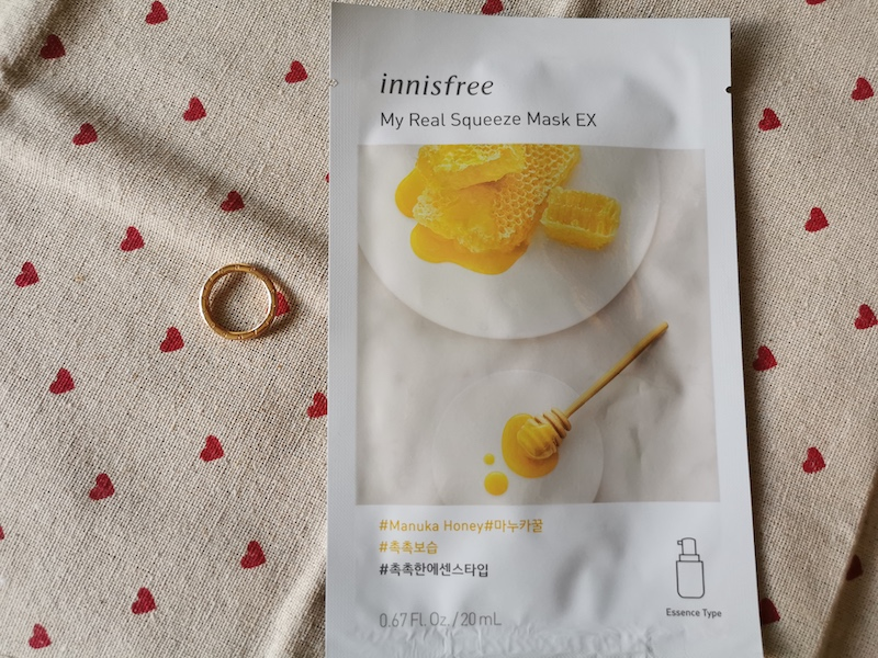 REVIEW | Innisfree My Real Squeeze Mask #Honey