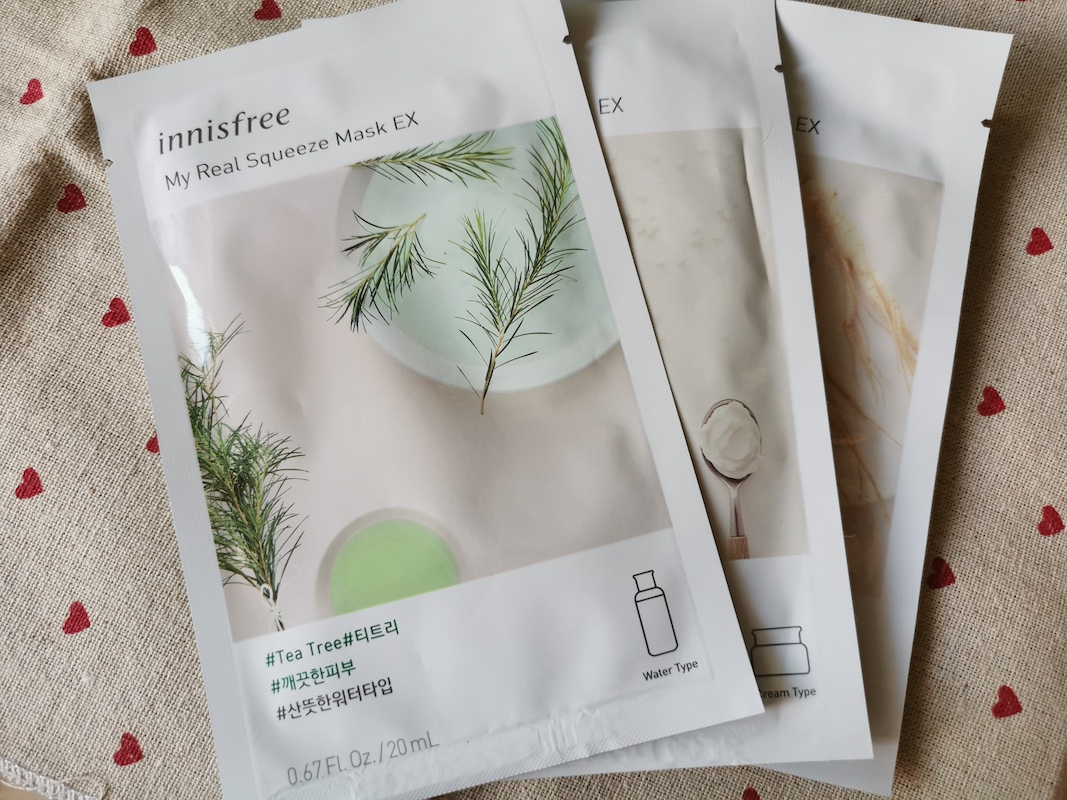 REVIEW | Innisfree My Real Squeeze Mask #Tea Tree
