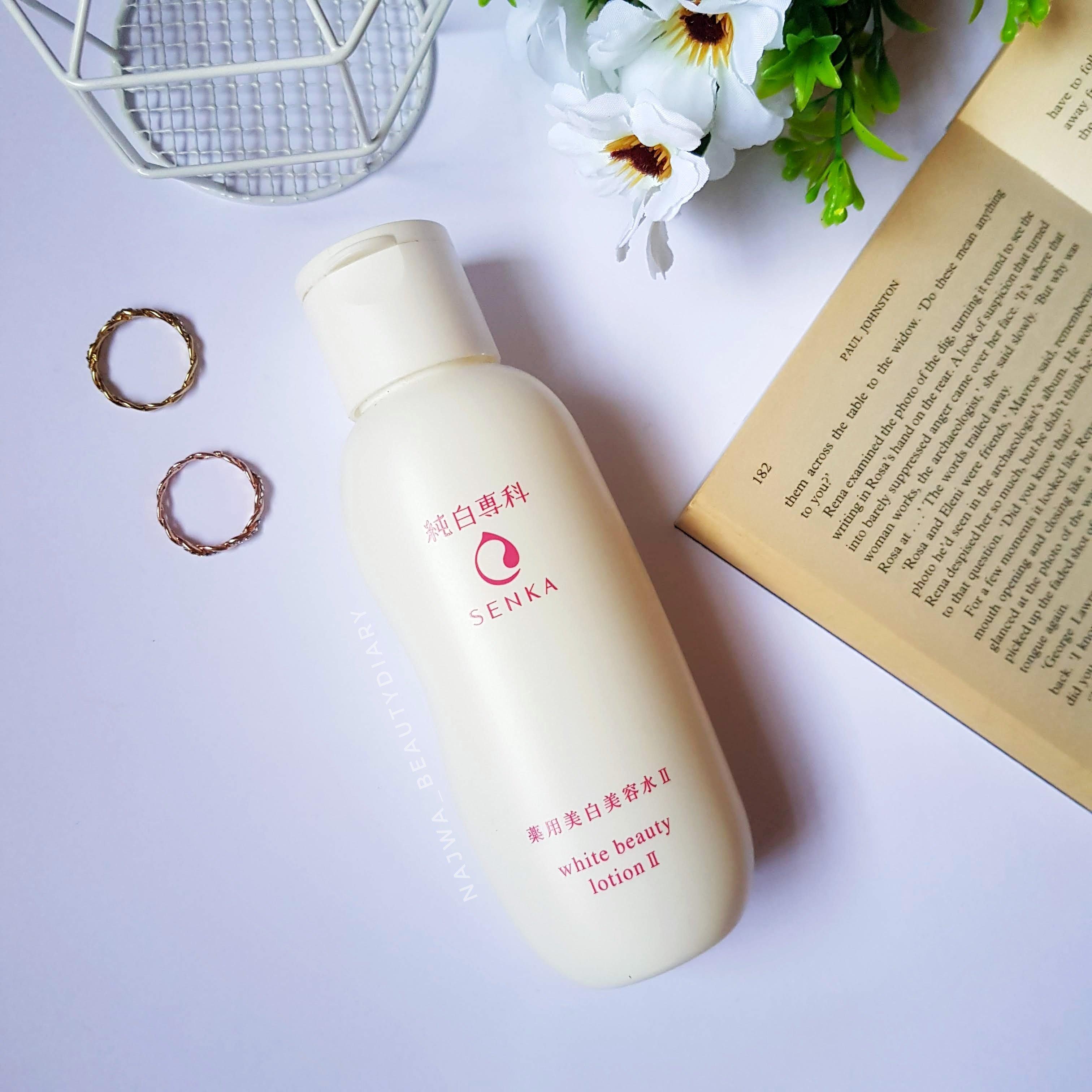 REVIEW | Senka Junpaku White Beauty Lotion