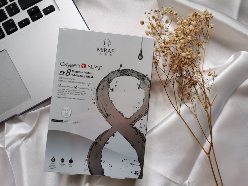 REVIEW | Mirae Ex8 Minutes Instant Whitening Mask