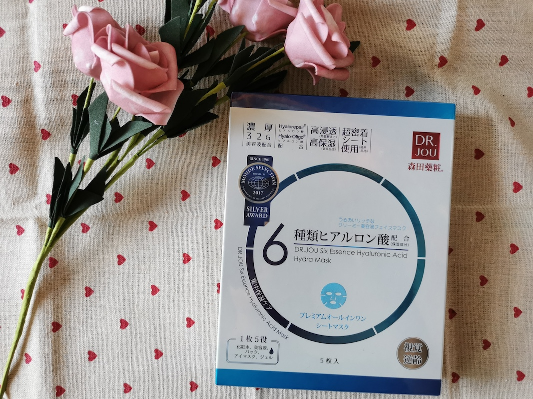 REVIEW | Dr. Jou Six Essence Hyaluronic Acid Hydra Mask Sheet