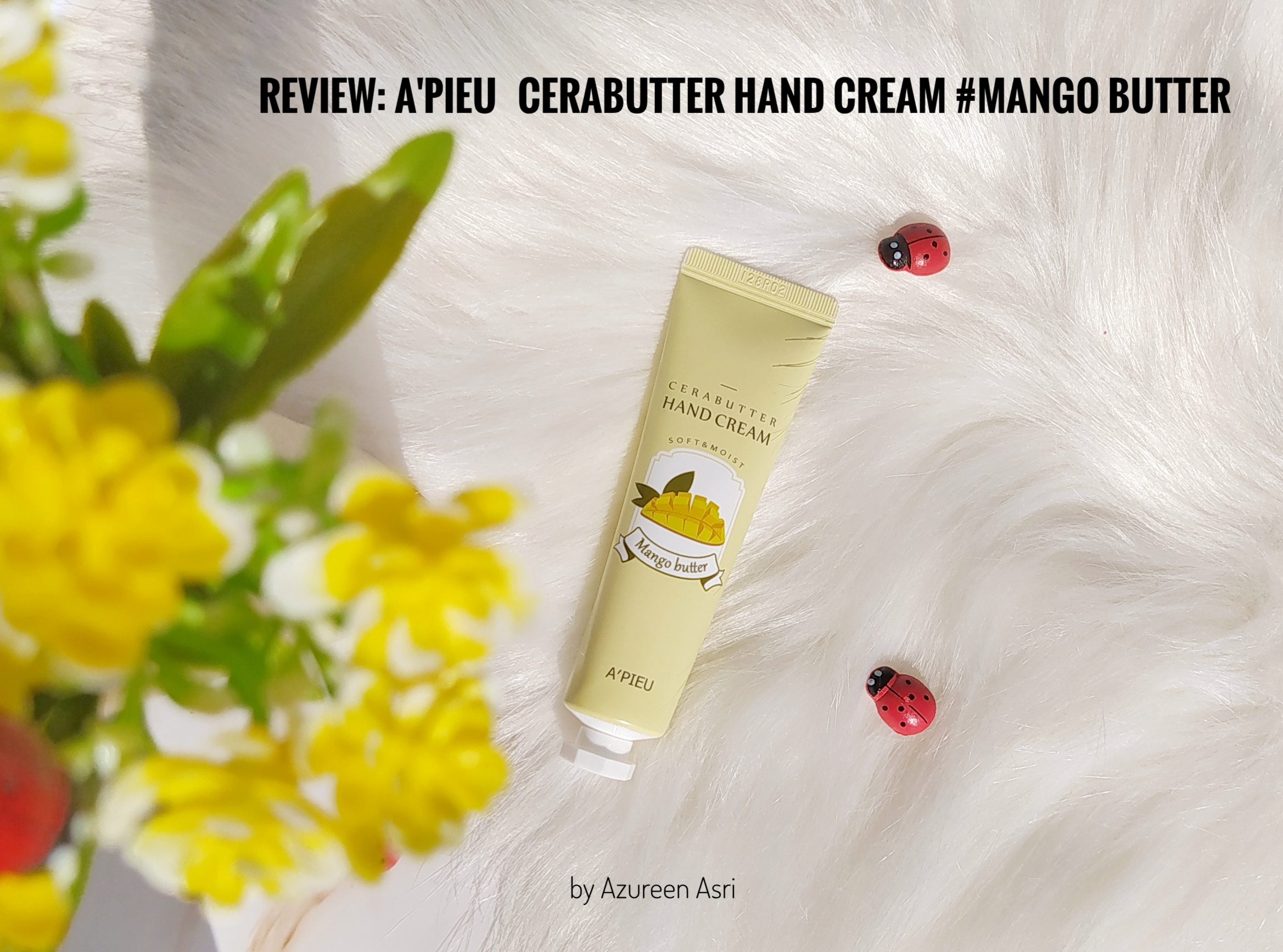 REVIEW | A'Pieu Cerabutter Hand Cream #Mango Butter