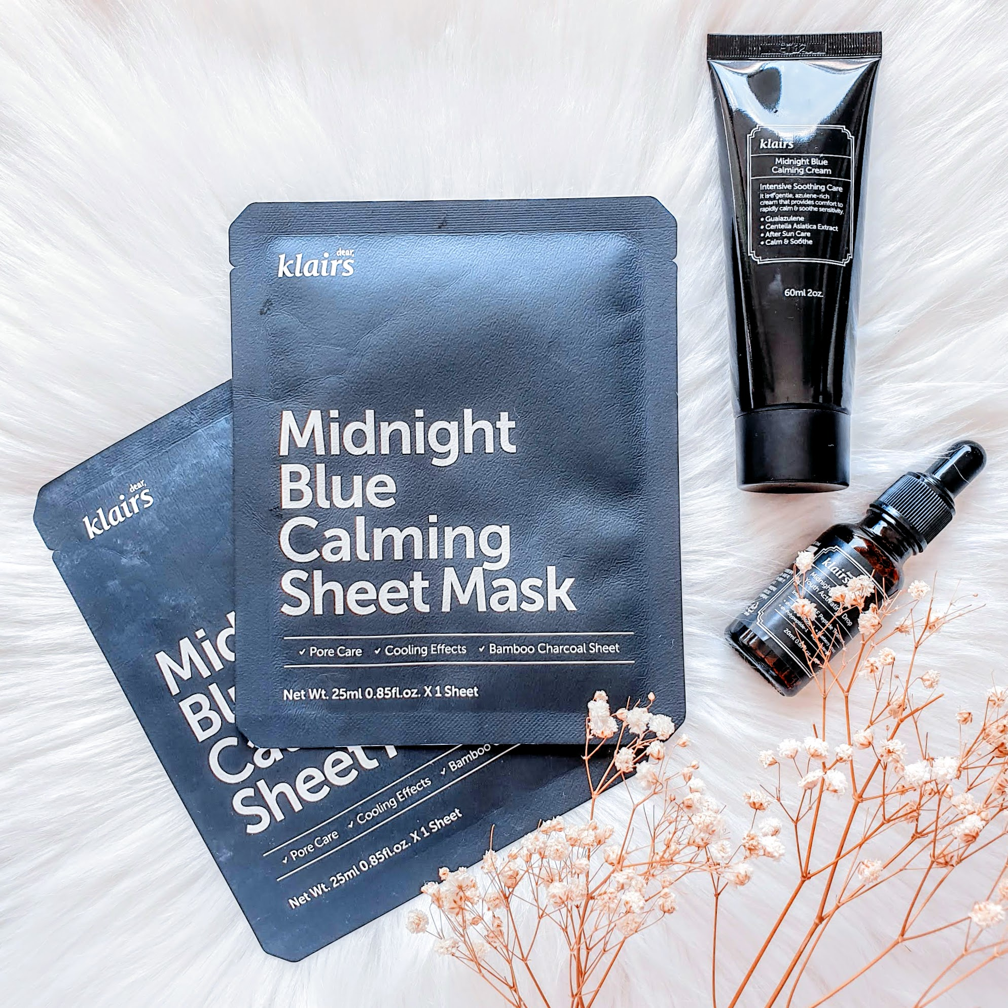 REVIEW | Klairs Midnight Blue Calming Sheet Mask