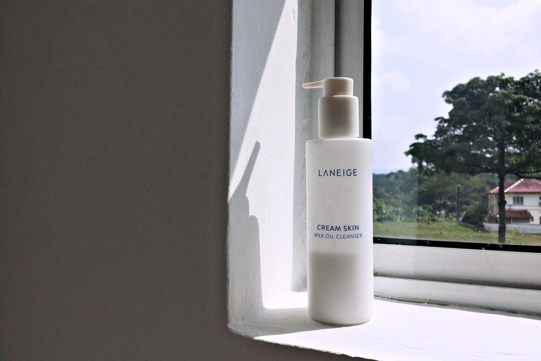 REVIEW | Laneige Cream Skin Milk Oil Cleanser