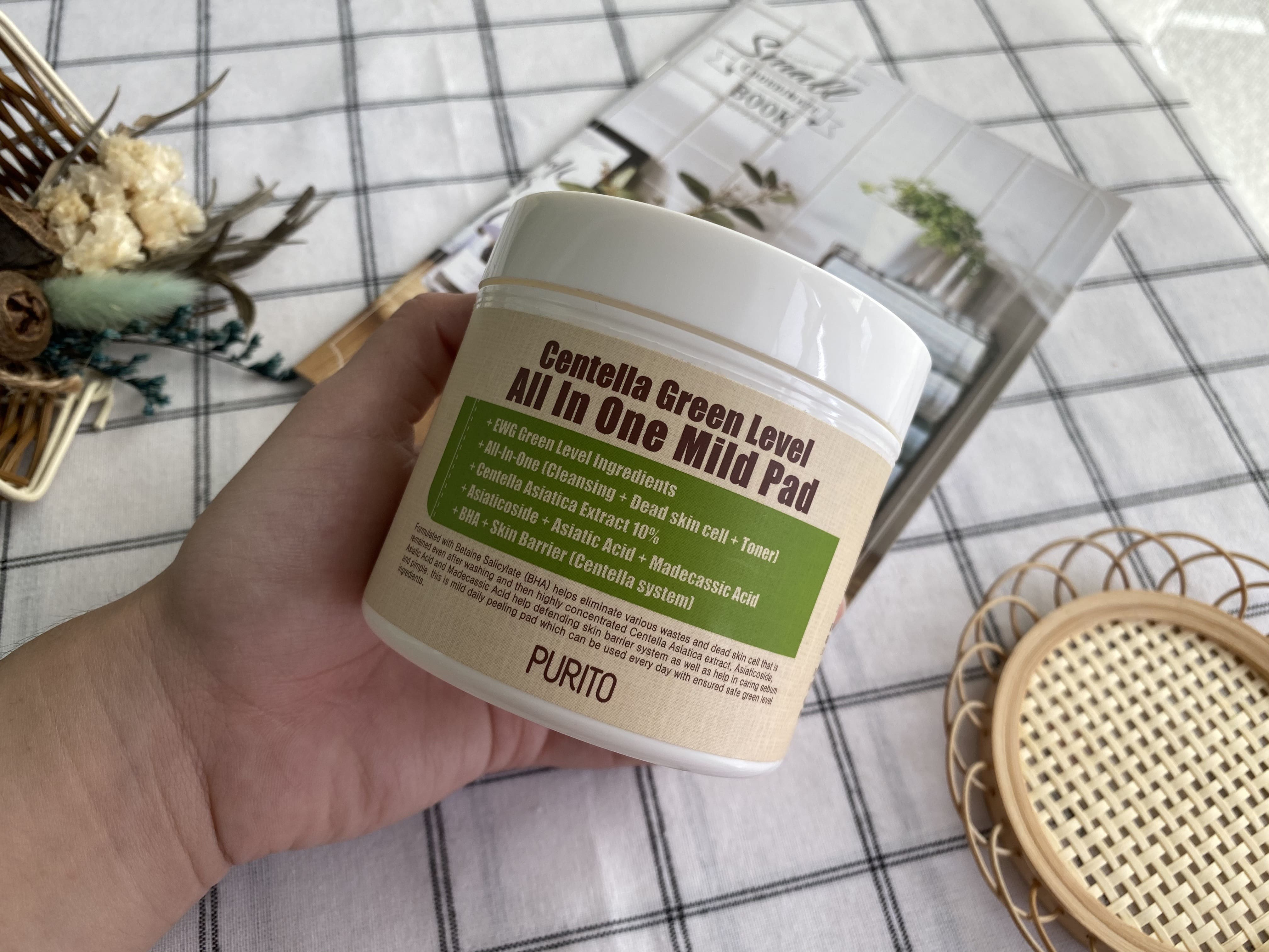 REVIEW | Purito Centella Green Level All In One Mild Pad