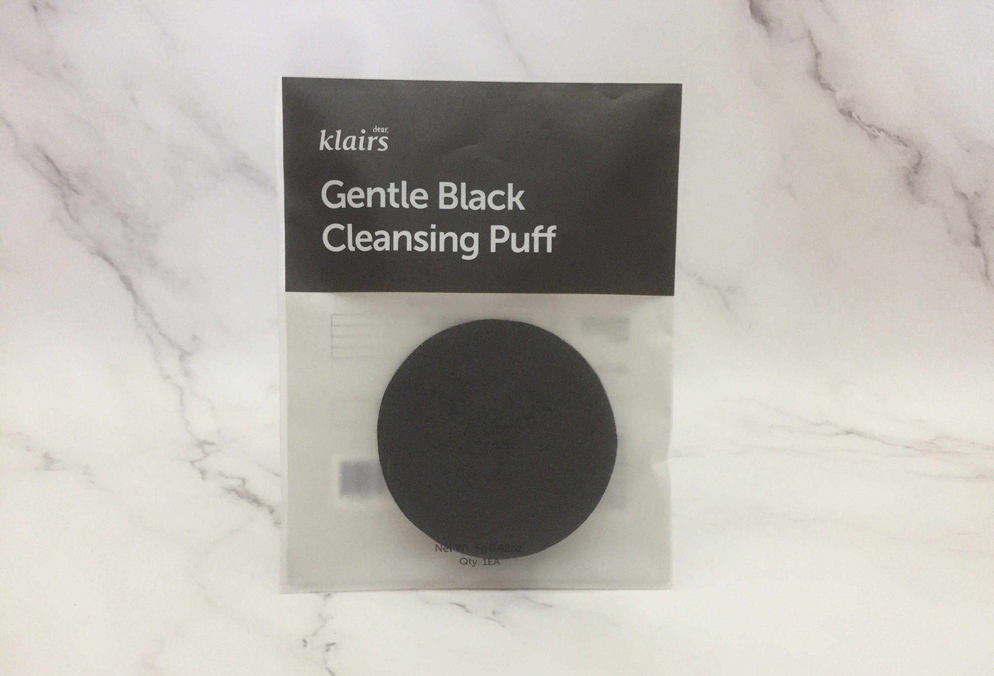 REVIEW | Klairs Gentle Black Cleansing Puff