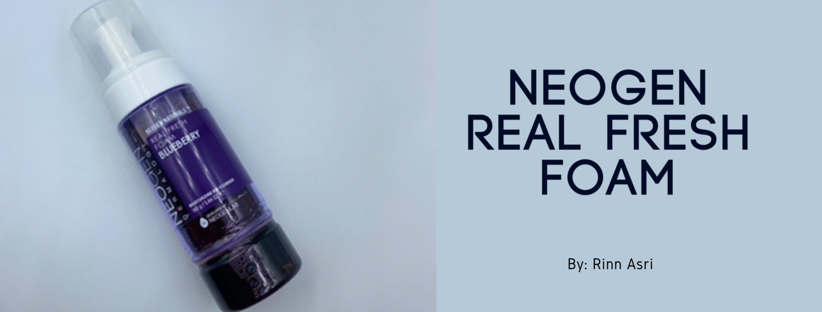 REVIEW | Neogen Real Fresh Foam Cleanser #Blueberry