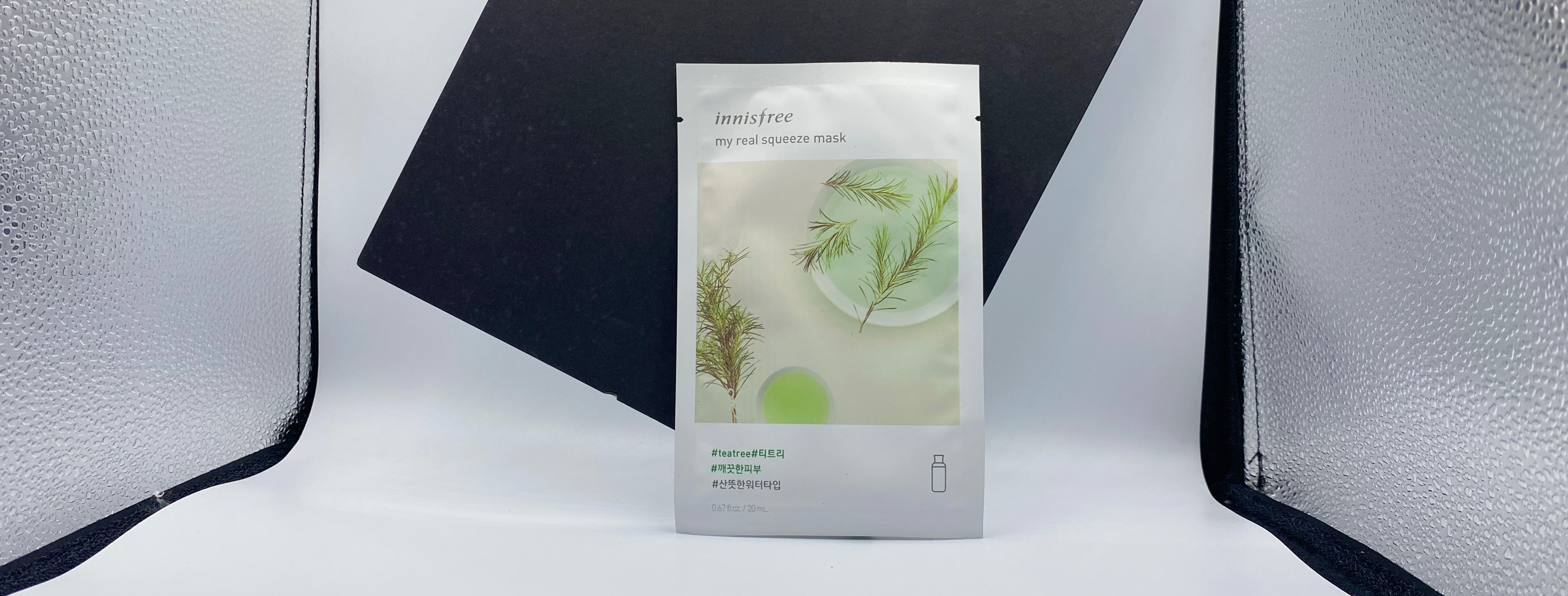 REVIEW   Innisfree My Real Squeeze Mask #Tea Tree
