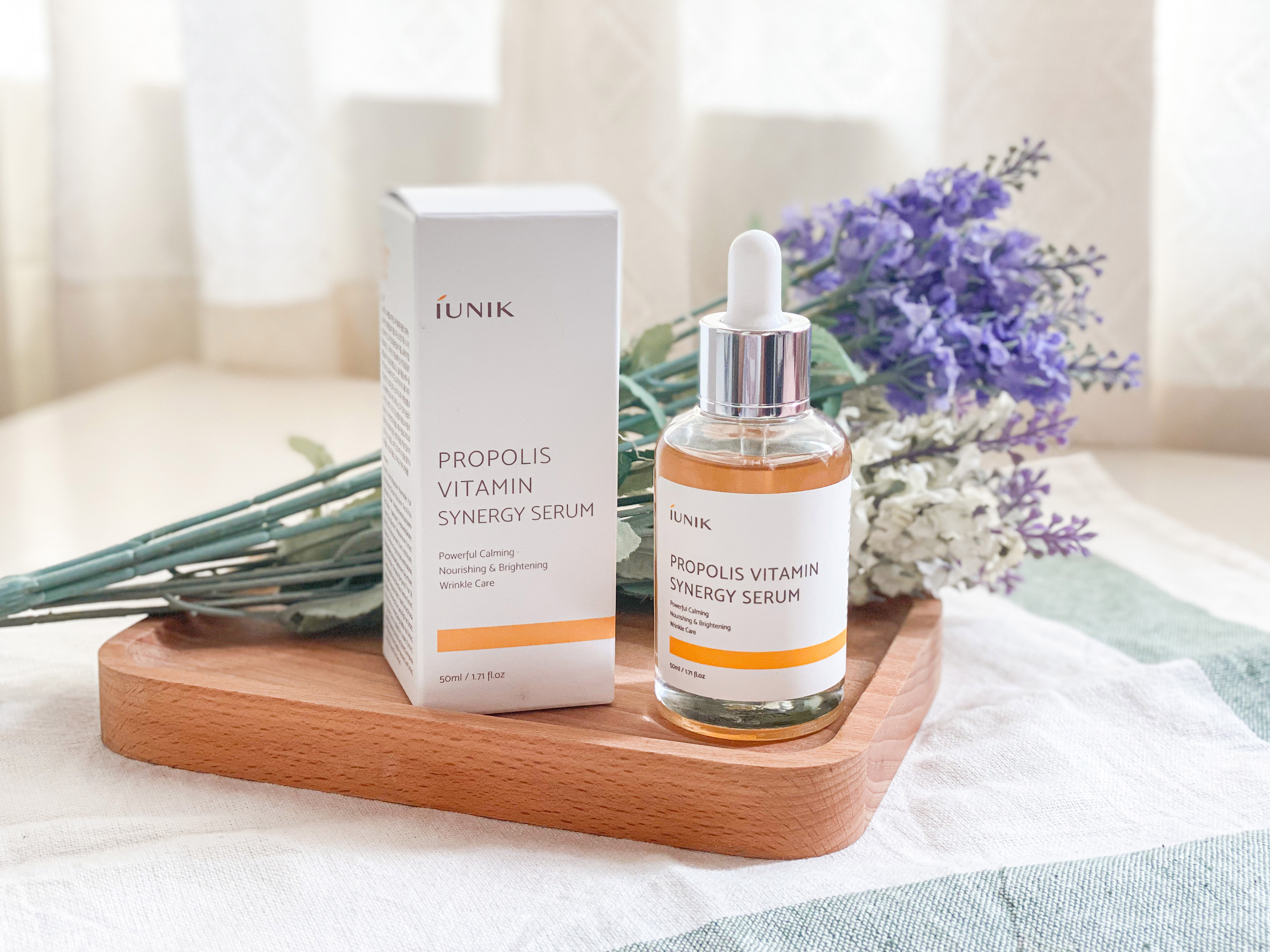REVIEW | IUNIK Propolis Vitamin Synergy Serum