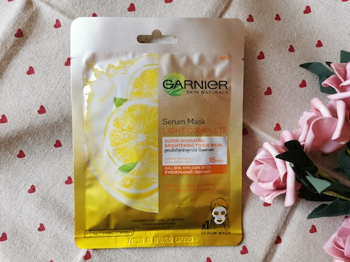 REVIEW | Garnier Skin Naturals Serum Mask #Light Complete