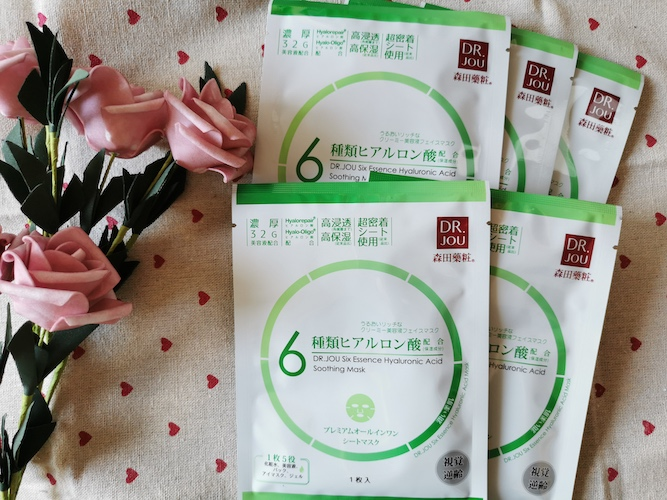 REVIEW | Dr.Jou Six Essence Hyaluronic Acid Sensitive Skin Soothing Moisture Mask Sheet