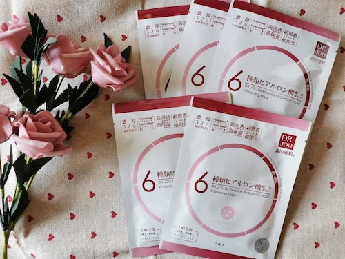 REVIEW | Dr.Jou Six Essence Hyaluronic Acid Whitening Mask Sheet
