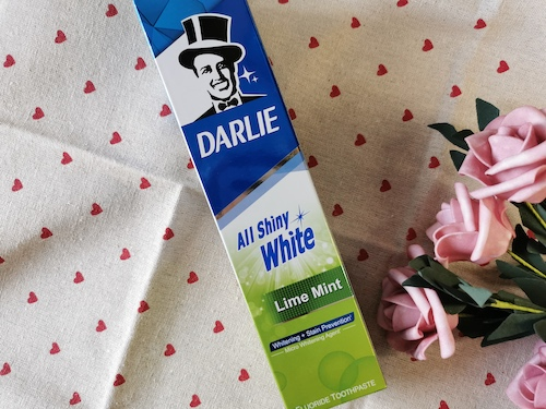 REVIEW | Darlie All Shiny White Lime Mint Toothpaste