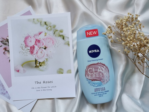 REVIEW | Nivea Shower Clay Fresh Hibiscus & White Sage