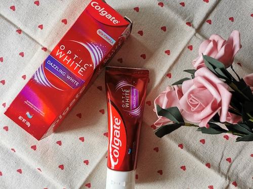 REVIEW | Colgate Optic White Whitening Toothpaste #Dazzling White