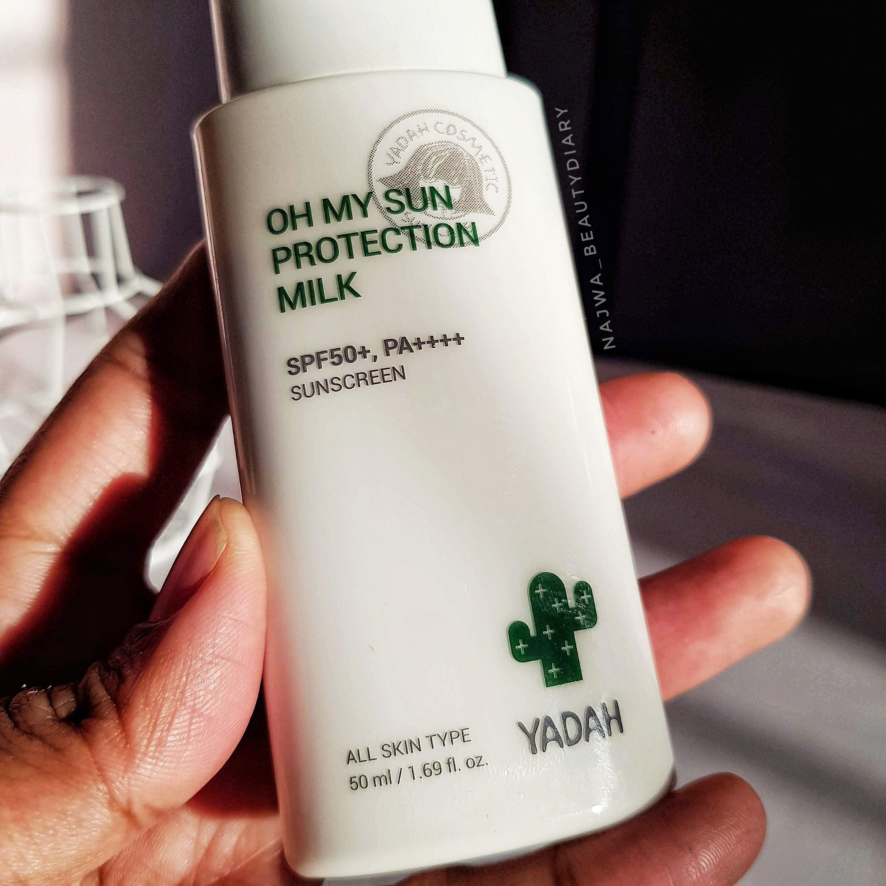 REVIEW | YADAH Oh My Sun Protection Milk