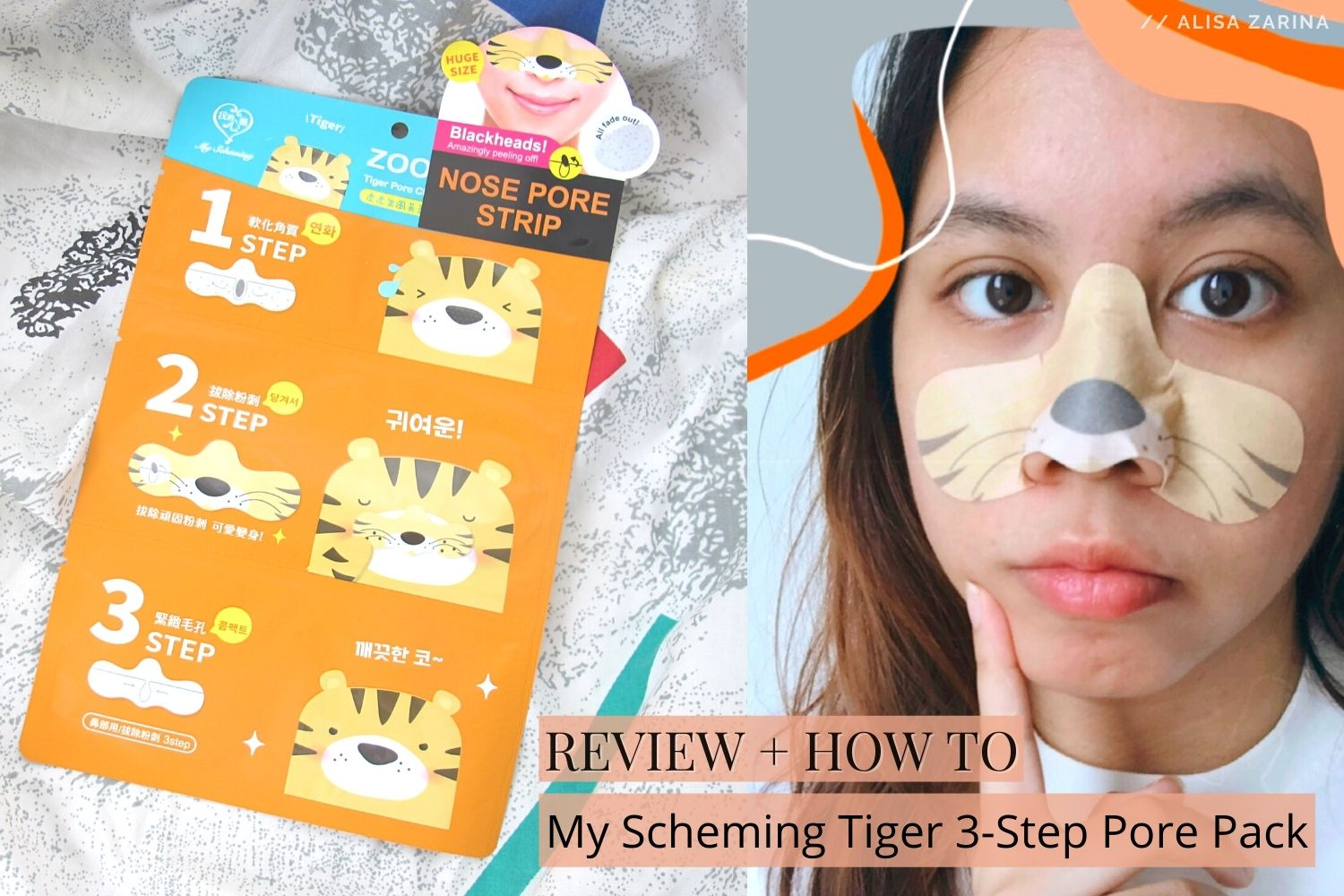 REVIEW + HOW TO | My Scheming Pore Cleansing 3 Step Pack