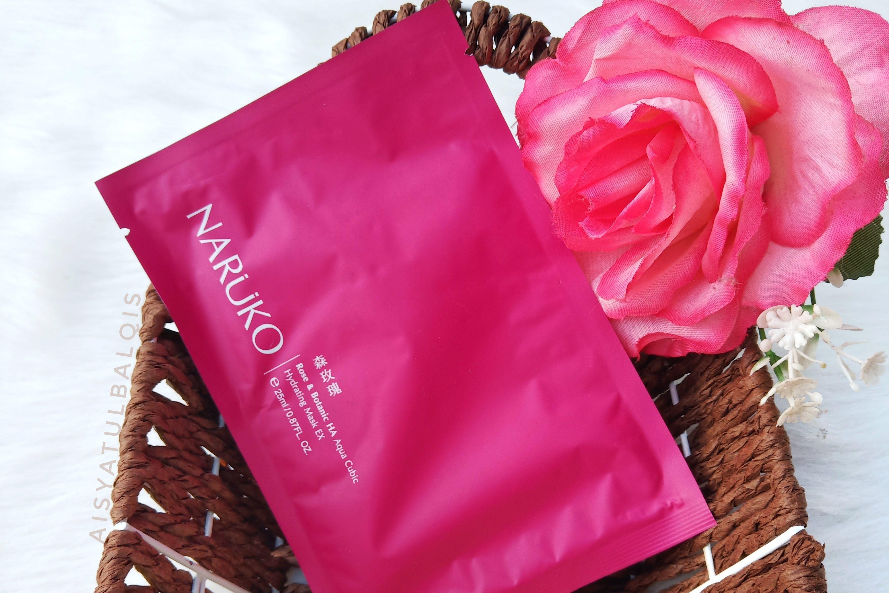 REVIEW l Rose and Botanic HA Aqua Cubic Hydrating Mask EX