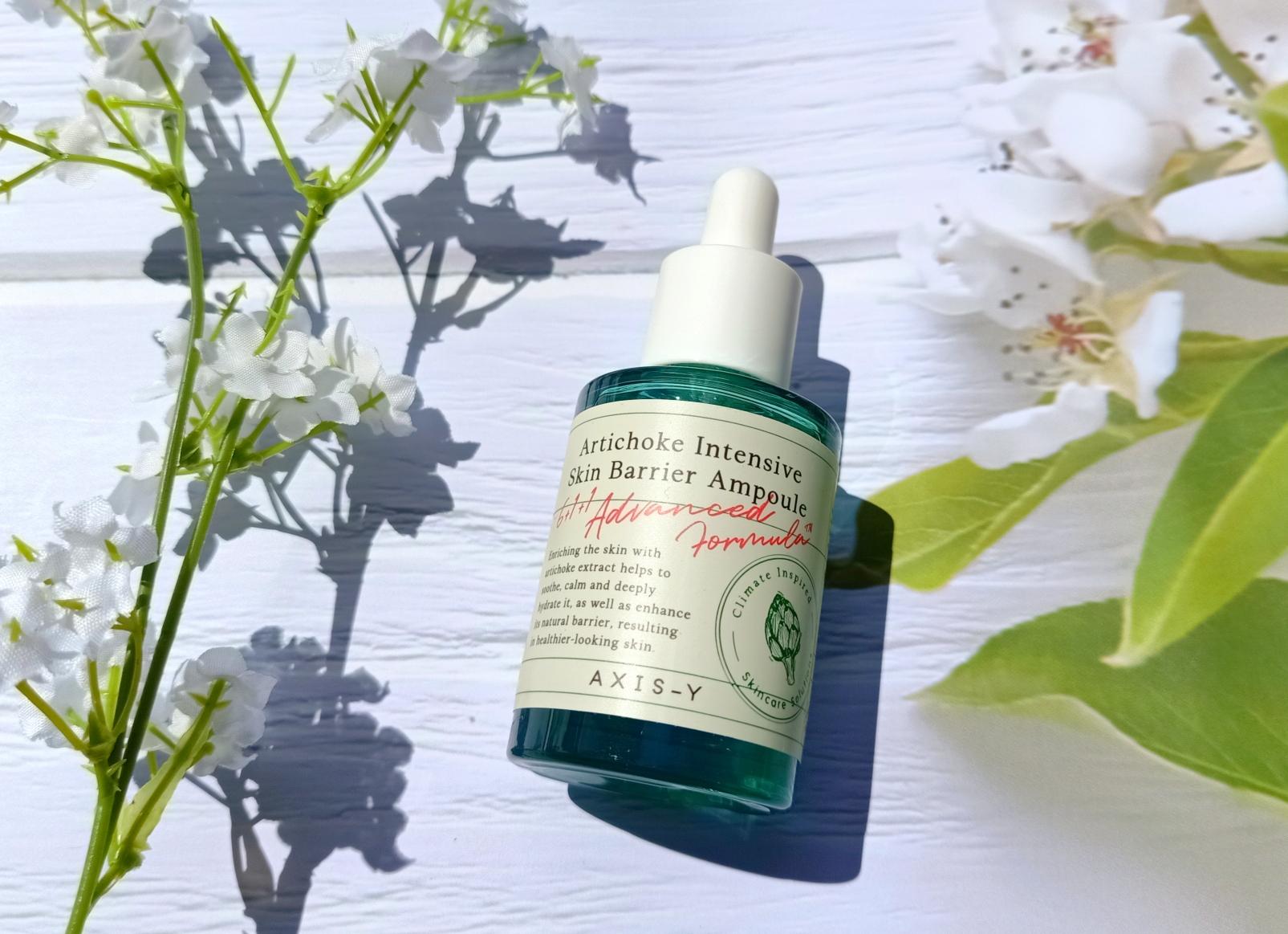 Calming Skin with Axis-Y Artichoke Intensive Skin Barrier Ampoule
