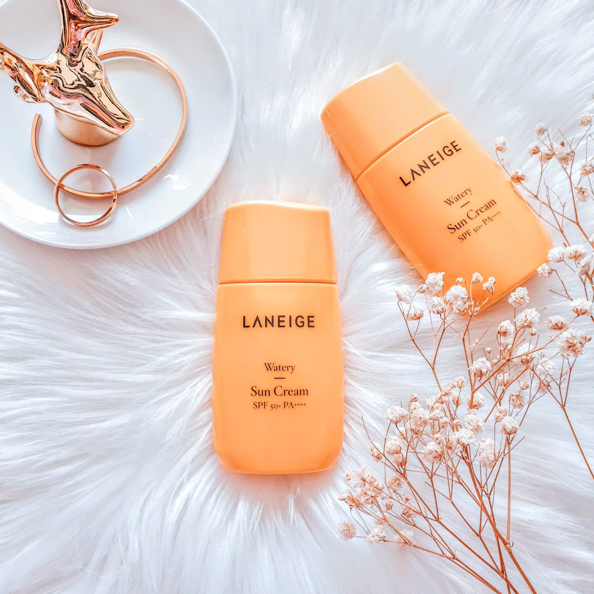 REVIEW | LANEIGE Watery Sun Cream SPF50+ PA++++