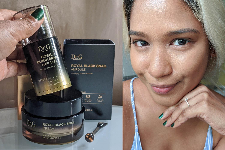 First Impressions | Dr.G Royal Black Snail Cream & Royal Black Snail Ampoule Review