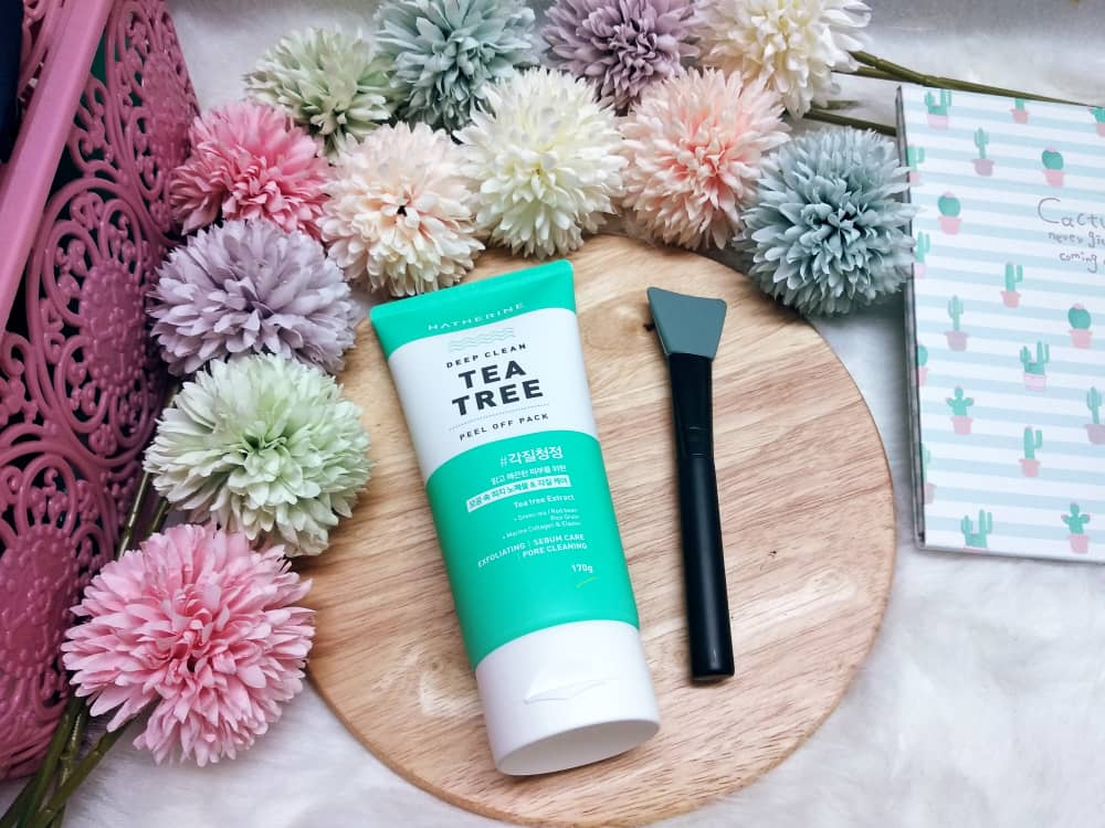 REVIEW | Hatherine Deep Clean Tea Tree Peel Off Pack