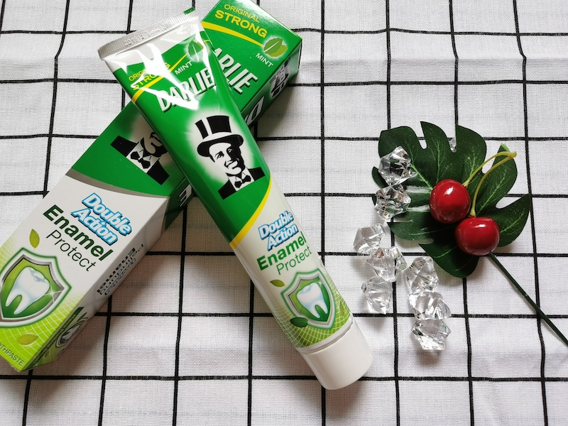 REVIEW | Darlie Double Action Enamel Protect Strong Mint Toothpaste