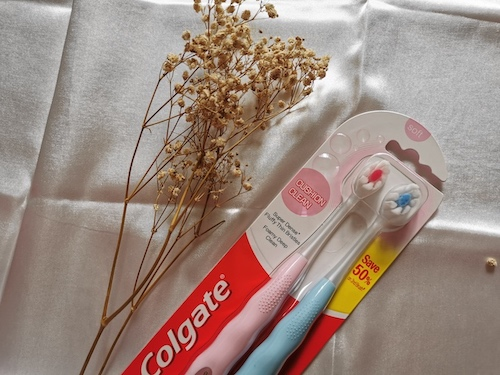 REVIEW | Colgate Cushion Clean Super Dense Fluffy Thin Toothbrush Value Pack [#Soft]