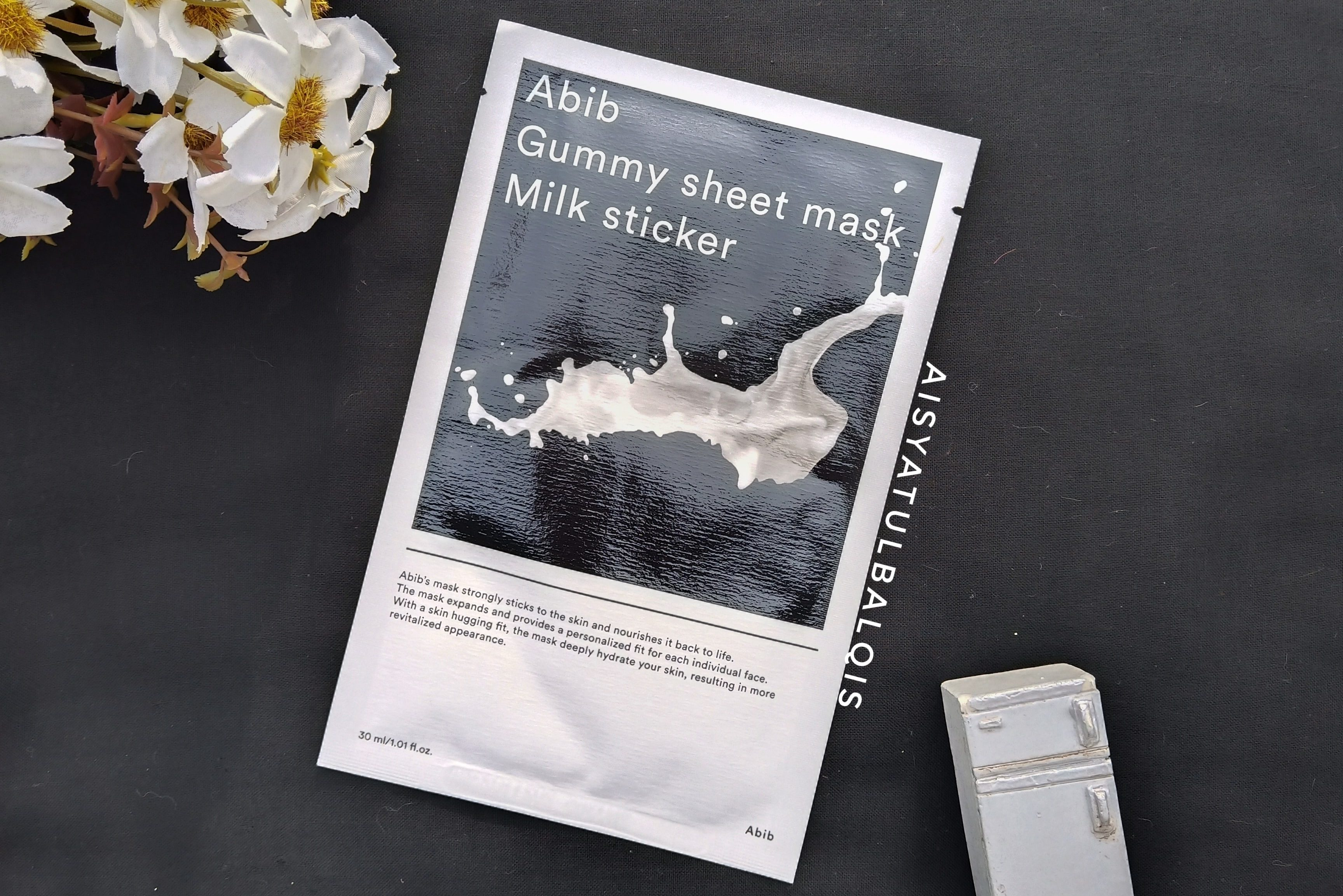 REVIEW l Abib Gummy Sheet Mask Milk Sticker