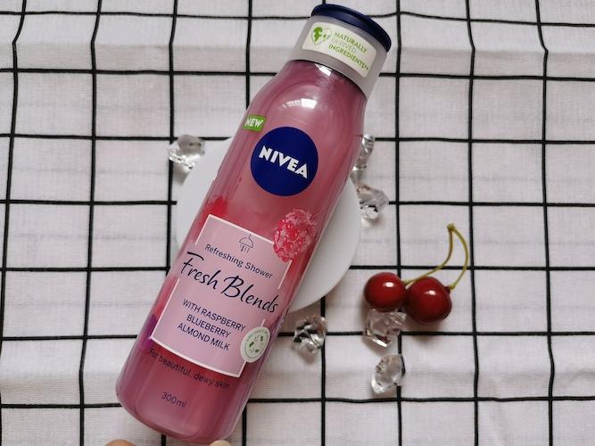 REVIEW   Nivea Fresh Blend Refreshing Shower #Raspberry