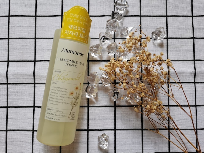 REVIEW | Mamonde Chamomile Pure Toner